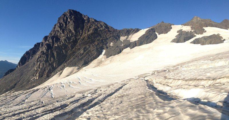 Rock Climbing Photo: Little Matterhorn