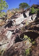 Rock Climbing Photo: JP leading Special K