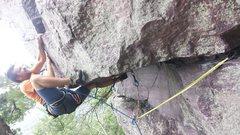 Rock Climbing Photo: Joel on ADR