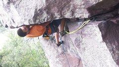Rock Climbing Photo: Joel on ADR!