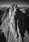 Rock Climbing Photo: Mount Louis. The upper portion of Homage to the Sp...