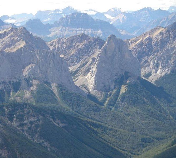 Mount Louis as seen from Cascade Mountain