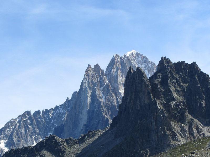 Rock Climbing Photo: Aiguilles de Chamonix