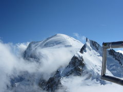 Rock Climbing Photo: Mont Blanc and Mont Maudit as seen from the summit