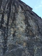Rock Climbing Photo: After the Gold Rush follows the relatively white s...
