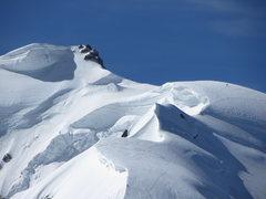 Rock Climbing Photo: summit of Mont Blanc du Tacul