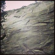 Rock Climbing Photo: Runaway Train