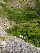 Rock Climbing Photo: Jess on Mr. Bill