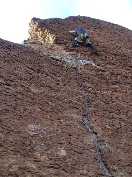 Rock Climbing Photo: East of Phoenix near some highway