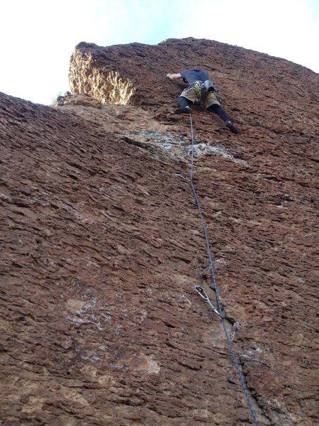 Rock Climbing Photo: East of Phoenix near some highway