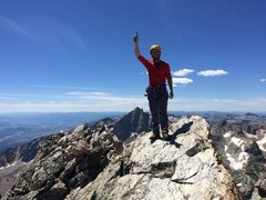 Rock Climbing Photo: Grand Traverse final summit