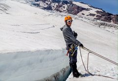 Rock Climbing Photo: Winthrop Glacier, Mount Rainier, June 2015