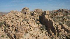 Rock Climbing Photo: The Thin Wall