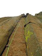 Rock Climbing Photo: JP on Sleepy Hallow