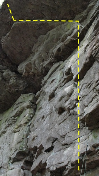 Rock Climbing Photo: Wheatward Bound- 12b.