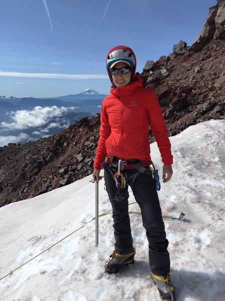 Rock Climbing Photo: Practicing rescue scenarios on the cowlitz glacier...