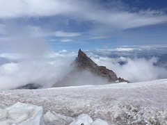 Rock Climbing Photo: Ingraham Flats before the storm rolled in.