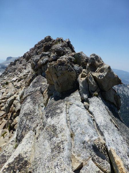 Rock Climbing Photo: The West Ridge of Tuolumne Peak