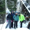 The crew at Ouray ice park