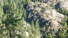 Rock Climbing Photo: Yet another photo of Canyon Creek Crag pointing ou...