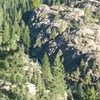 Yet another photo of Canyon Creek Crag pointing out Rockytop