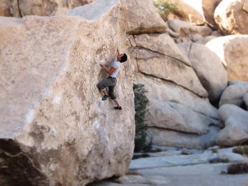 Rock Climbing Photo: Getting ready to grab the lip on JBMFP  Photo Cred...