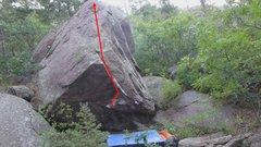 Rock Climbing Photo: Shark Fin.