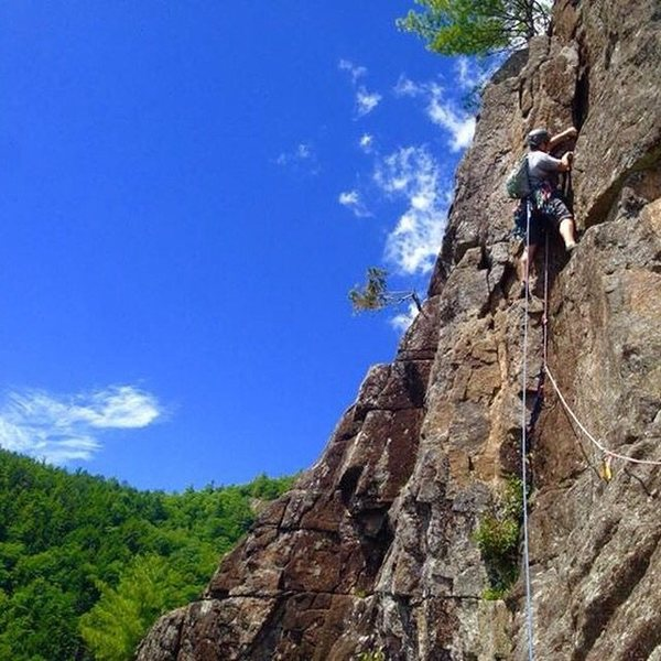 Rock Climbing Photo: Humphreys ledge.