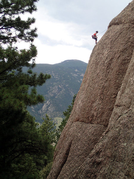 Rock Climbing Photo: From up the hill, I think it looks more like Pando...
