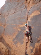 Rock Climbing Photo: Climbing in Moab