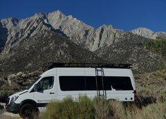 Rock Climbing Photo: After doing North Ridge Lone Pine Peak (in backgro...