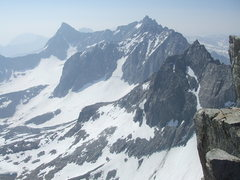 Rock Climbing Photo: From Mount Sill to Mount Winchell, taken from Moun...