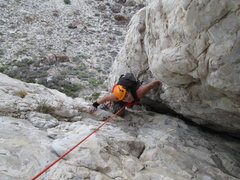 Rock Climbing Photo: my first climb at Ibex