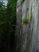 Rock Climbing Photo: Rattletale P2