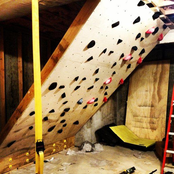 Basement bouldering
