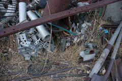 Rock Climbing Photo: scrap pile