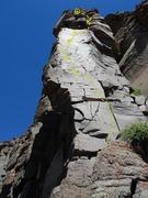 Rock Climbing Photo: Talus Knirschen Topo