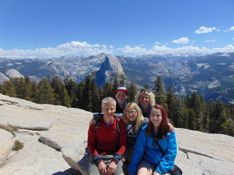 Rock Climbing Photo: Family meeting at Sentinal