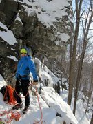 Rock Climbing Photo: rumney ice 2015