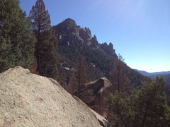 Rock Climbing Photo: Sunshine Wall and Cynical Pinnacle