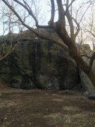 Rock Climbing Photo: Nira Rock left