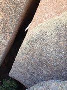 Rock Climbing Photo: Motor Breath bottom.