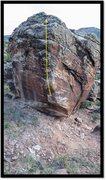 Rock Climbing Photo: Albatoss problem beta.