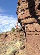 Rock Climbing Photo: Smith Rock climbing