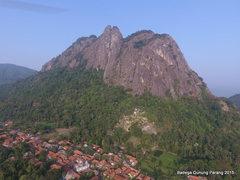 Rock Climbing Photo: East Face of Mount Parang, a hidden bigwall at Ind...