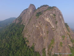 Rock Climbing Photo: East Face of Mount Parang