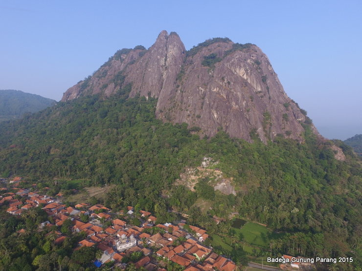 Rock Climbing Photo: Location of Badega Gunung Parang, a climber villag...