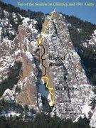 Rock Climbing Photo: Le' 3rd.