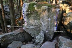 Rock Climbing Photo: The American Gigalo boulder