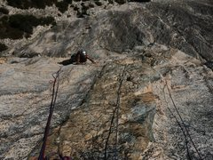 Rock Climbing Photo: 1st crux